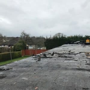 Before Flat Roof Allendale Avenue Bishopstown Cork