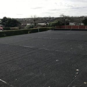 Flat roof After and after photos allendale avenue bishopstown cork